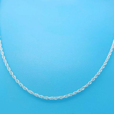 Genuine 925 Sterling Silver Prince Of Wales Chain Available In Diff Lengths